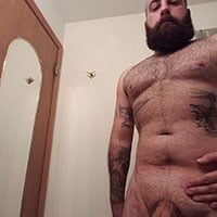 Bear viril pour plan chaud à montpellier